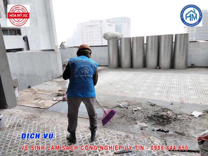 Dịch vụ vệ sinh công nghiệp Hà Nội 5