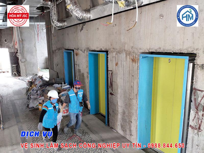 Dịch vụ vệ sinh công nghiệp Hà Nội 2